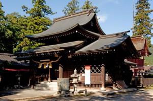 八坂神社2拝殿